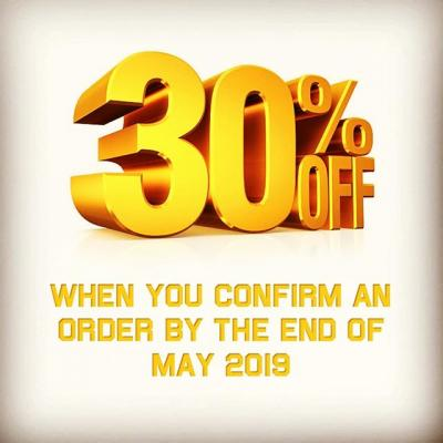 💥💥💥 SPRING SALE 💥💥💥 30% off all orders if confirmed by the end of May 2019. If you're thinking of having an event, get your order in by the end of May 2019 and you can save a massive 30% off the total order price..!! Contact us today on 01189 333239 or email at info@aps-uk.biz